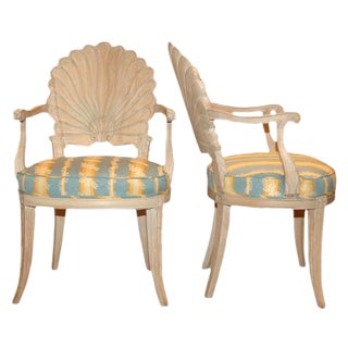 Andre Groult Seashell Armchairs - A Pair
