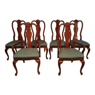 Queen Anne Dining Chairs - Set of 6