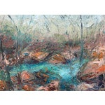"Image of ""Misty Run"" Landscape Oil Painting"