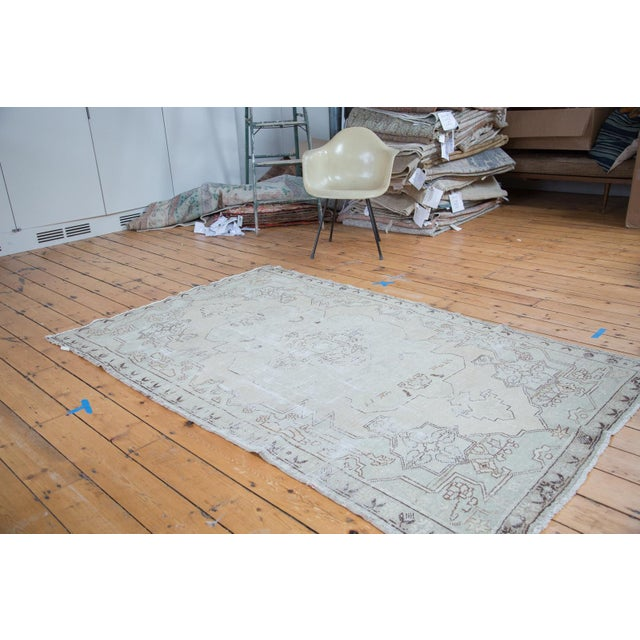 "Distressed Oushak Rug - 4'8"" X 7'5"" - Image 2 of 10"