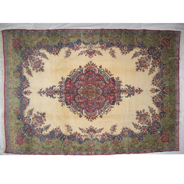 "Lavar Kerman Carpet - 9'6"" X 13'5"" - Image 2 of 7"