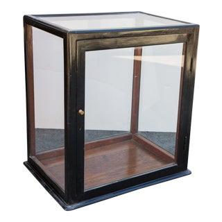 Ebonized Curio Cabinet