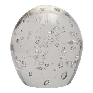 Kaiser Krystal Bubbled Glass Egg