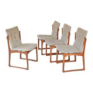 Vamdrup Stolefabrik Danish Teak Dining Chairs