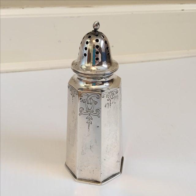 Antique Sterling Silver Sugar Shaker - Image 2 of 5