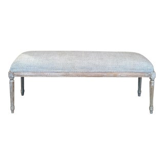 French Inspired Bedroom Bench