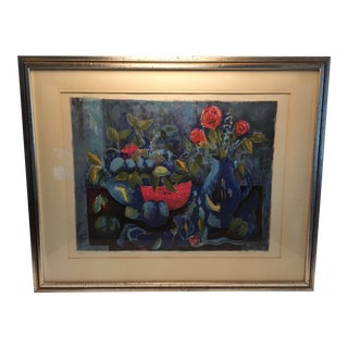 Tony Agostini Framed Lithograph