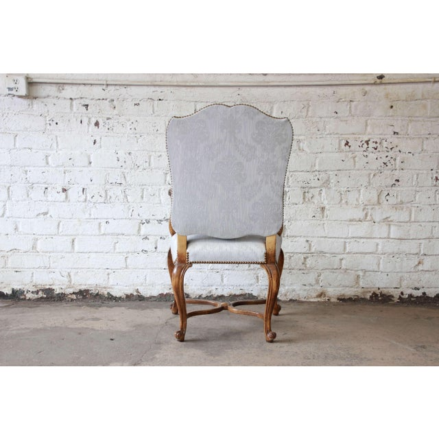 French Provincial Dining Chairs by Baker Furniture - Set of 12 - Image 6 of 11