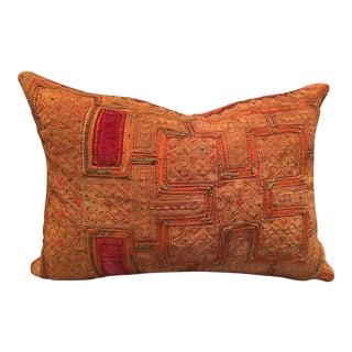 Vintage Thai Applique Pillow