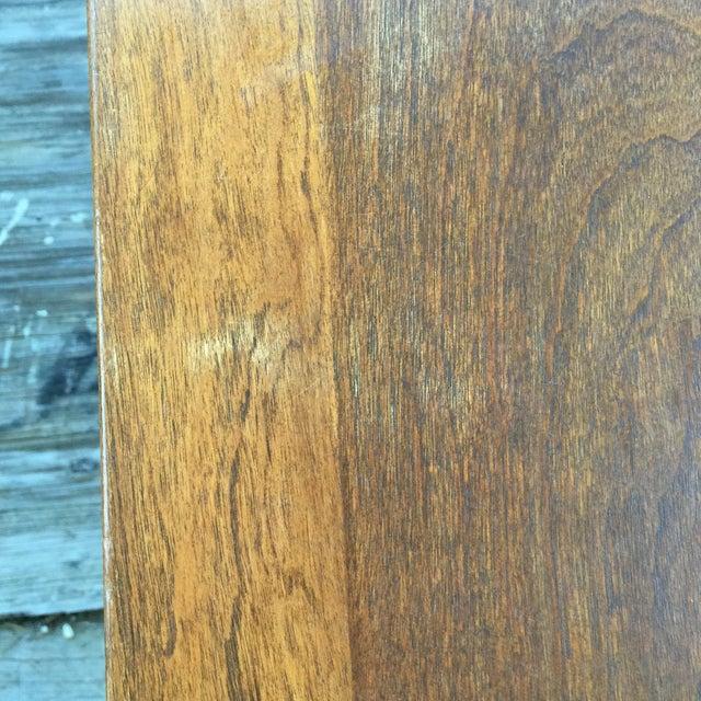 Mid-Century Walnut Side Table - Image 6 of 7