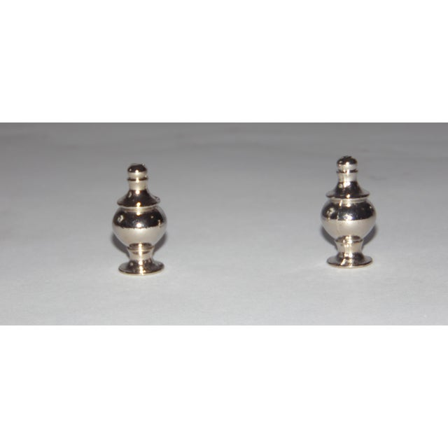 Mid-Century Lucite & Ceramic Table Lamps - A Pair - Image 8 of 9