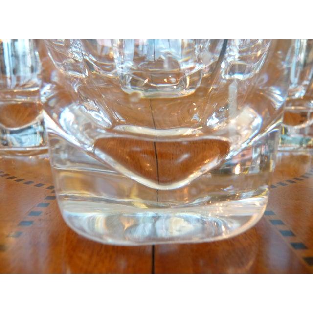 Heavy Glass Short Rocks Glasses - Set of 8 - Image 5 of 6