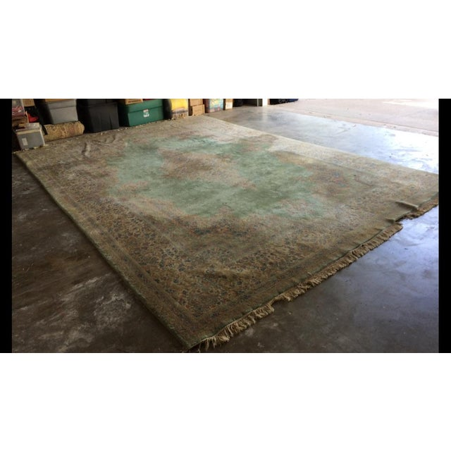 Traditional Iranian Handmade Wool Rug - 14′ × 10′ - Image 2 of 11