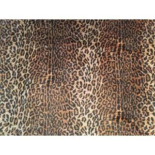 """Ralph Lauren """"Kano Silk Leopard"""" Fabric - 1 Yard"""