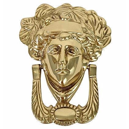 Image of Brass Medusa Door Knocker