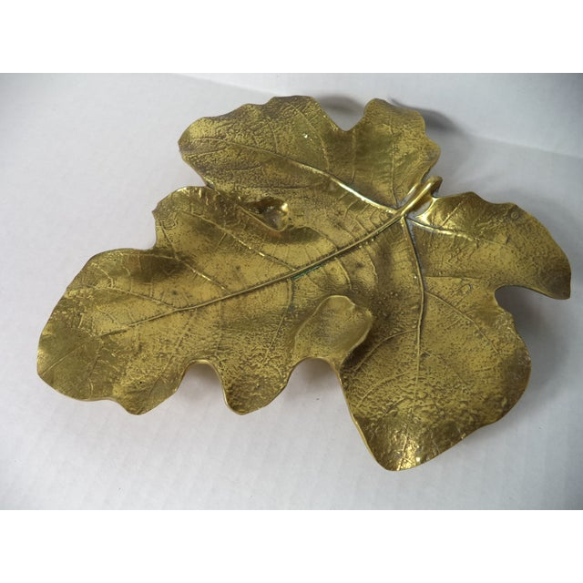 Image of Virginia Metalcrafters Leaf Catchall