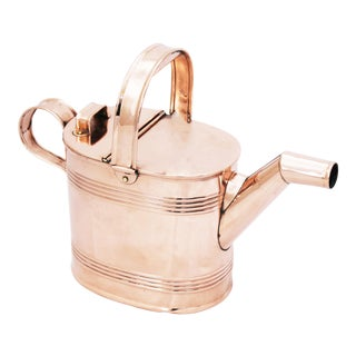 Antique English Copper Watering Can