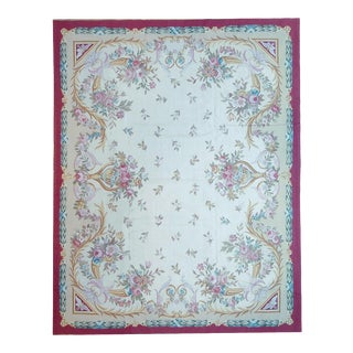 """Pasargad Aubusson Hand-Woven Wool Rug- 10'11"""" X 15'11"""""""