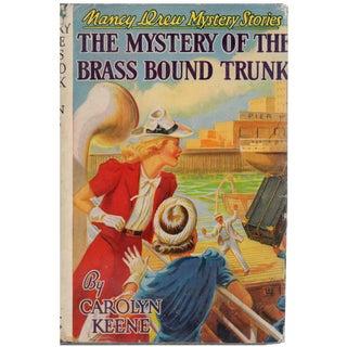 """Nancy Drew: Mystery of Brass Bound Trunk"" Book Circa 1940"