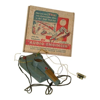 Vintage Toy Audio-Engineer Set