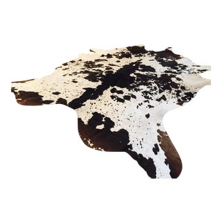 Black and White Cowhide Rug - 7' x 8'