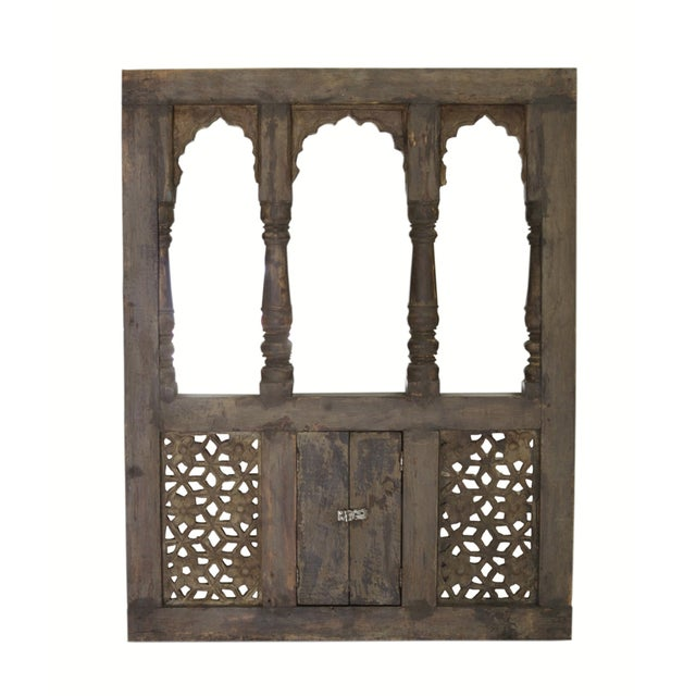 Moorish Style Haveli Window Mirror - Image 1 of 3