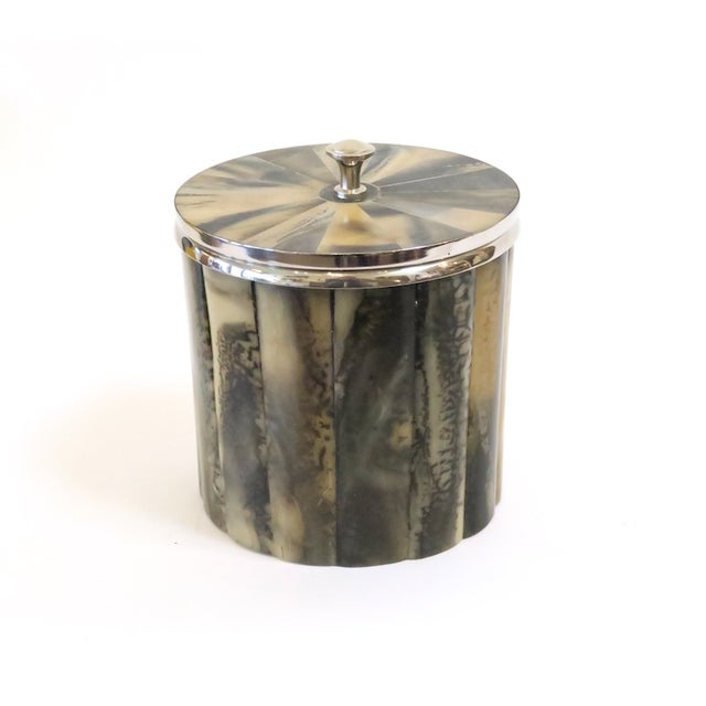 Image of Horn & Silver Ice Bucket