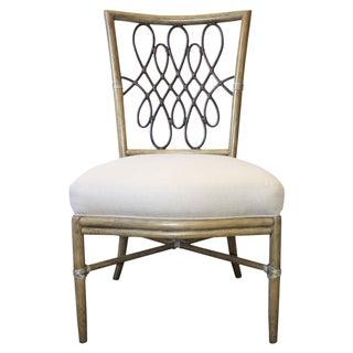 McGuire Barbara Barry Script Side Chair