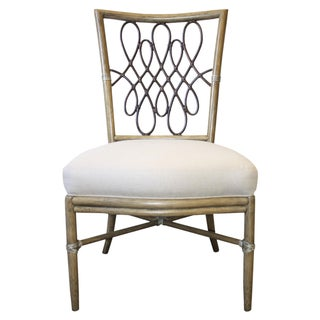 McGuire Barbara Barry Script Side Chair