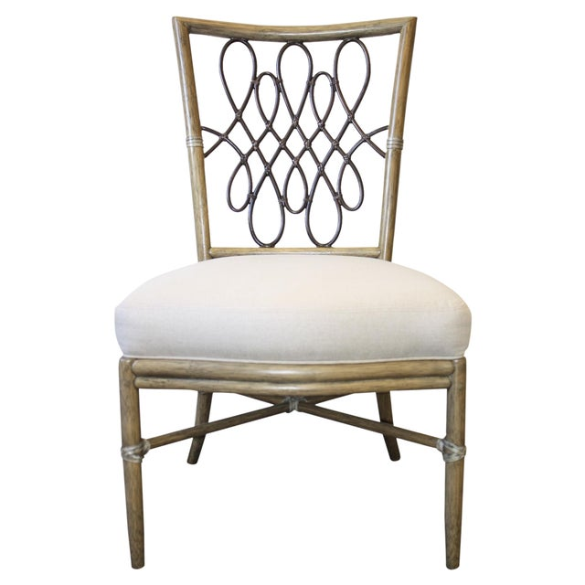 Image of McGuire Barbara Barry Script Side Chair