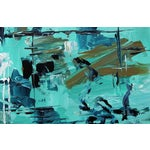 "Image of ""Reason Askew"" Aqua Painting by Celeste Plowden"