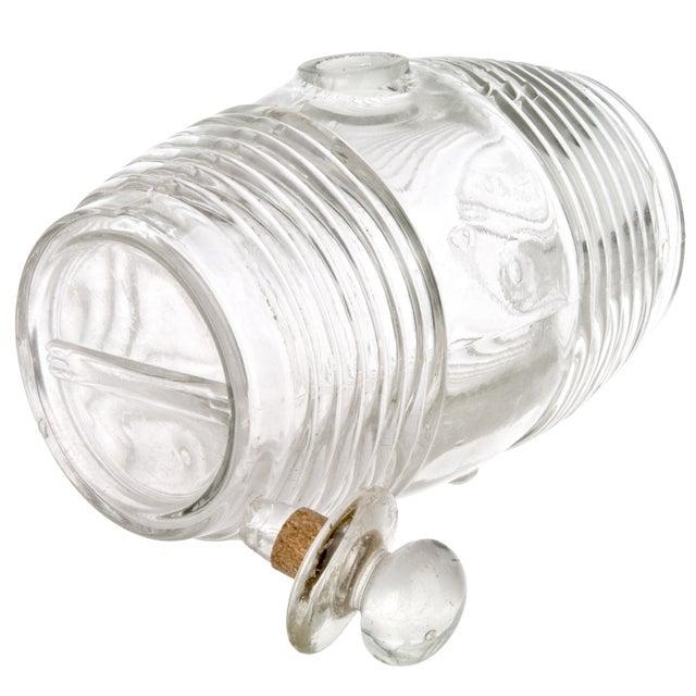 Vintage French Glass Cognac Barrel - Image 5 of 6