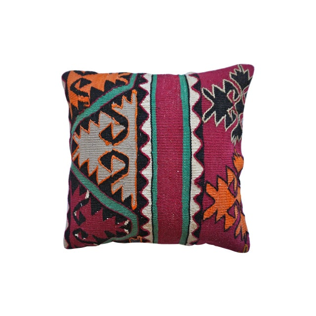 16x16 Kilim Pillowcase - Image 1 of 5