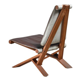 Pierre Chapo S46 Chlacc Leather Easy Chair, France, ca. 1980