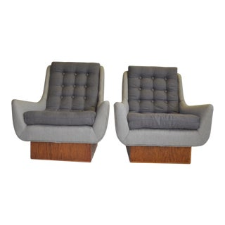 Mid-Century Modern Arm Chairs - A Pair