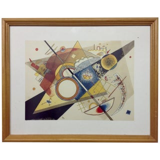 Kandinsky Lithograph by Graphique de France