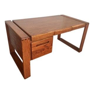 Lou Hodges California Design Group Oak Craftsman Desk