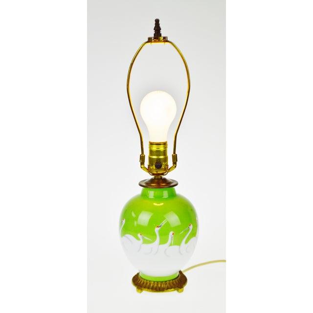 Image of Vintage Morimura Bros. Noritake Vase Table Lamp