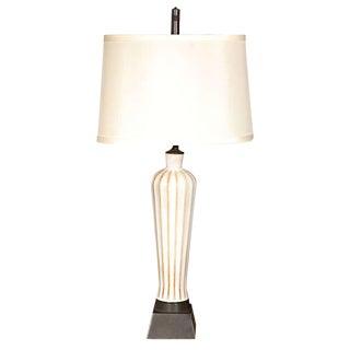 Danish Porcelain Table Lamp