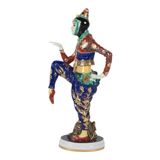 Ballet Russes Porcelain Figure by Rosenthal, German, 1920s