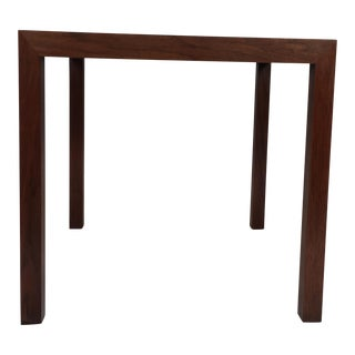 Edward Wormley Walnut Side Table