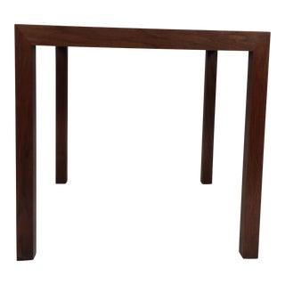 Edward Wormley Walnut Side Table