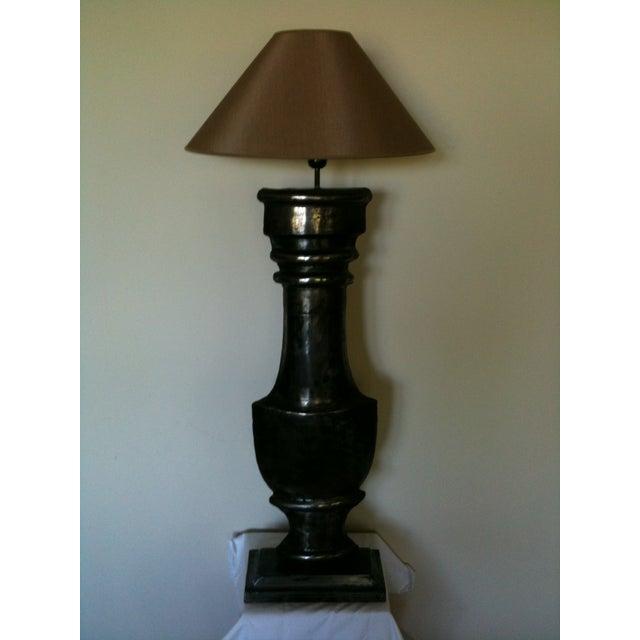 European Zinc Demi-Lamps - Pair - Image 5 of 7