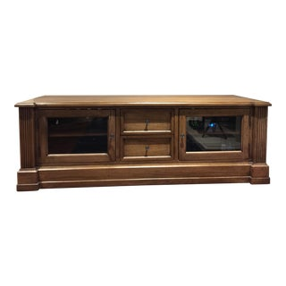 Ethan Allen Traveller Single Media Base Console