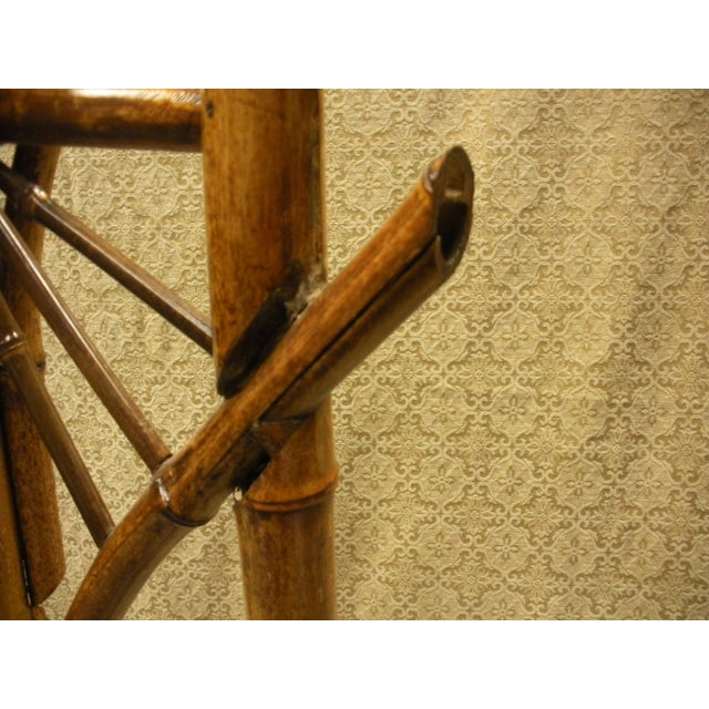 Antique Bamboo Plant Stand Aesthetic Movement - Image 5 of 8
