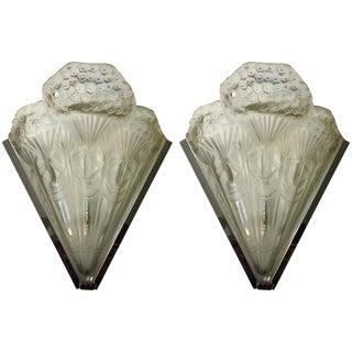 French Art Deco Sconces - A Pair