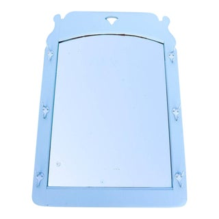 Cottage Style Mirror With Hooks
