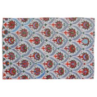 "Vintage Uzbek Suzani Textile - 4'10"" x 6'10"""