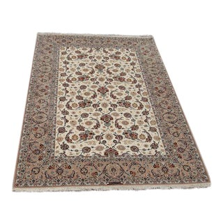 Silk & Wool Persian Isfahan - 7″ × 10″