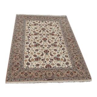 Silk & Wool Persian Isfahan - 7″ × 10″